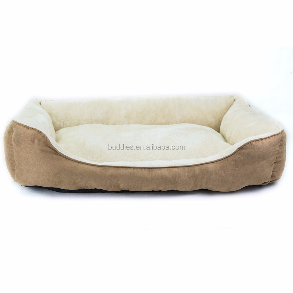 Hot Sale Rectangle Plush Dog Bed Pet Products