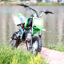 Petrol Powered Kick Start Automatic Motor Cross 125CC Dirt Bike Pit Bike for Sale