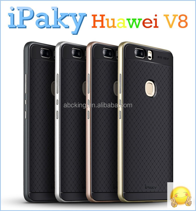 ipaky PC Bumper Cover Case for Huawei V8 Protective Phone Case