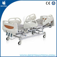 BT-AM102 CE high quality cheap medical high-low bed, paitent nursing bed with siderail