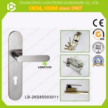Stainless steel 8550 lock body and single open 304 SS handles lock.