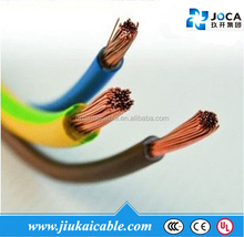 rv flexible wire h05v-k,h07v-k 3 core 2.5mm flexible copper cable