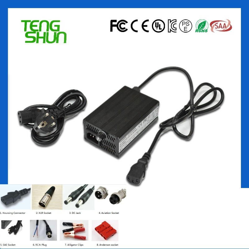 13cells 48v 54.6v 2a lithium battery charger 48v 2amp