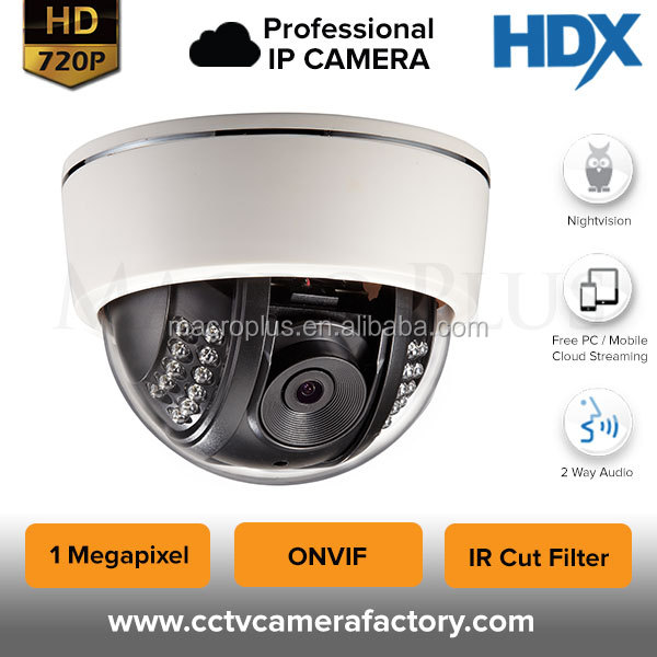 H.264 IR 2.0MP Low Lux 1080P HD Sony 122 CMOS ONVIF outdoor security plastic housing ip dome cctv camera