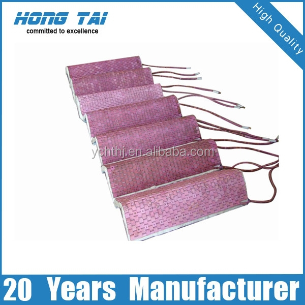 PWHT electric flexible ceramic mat heater