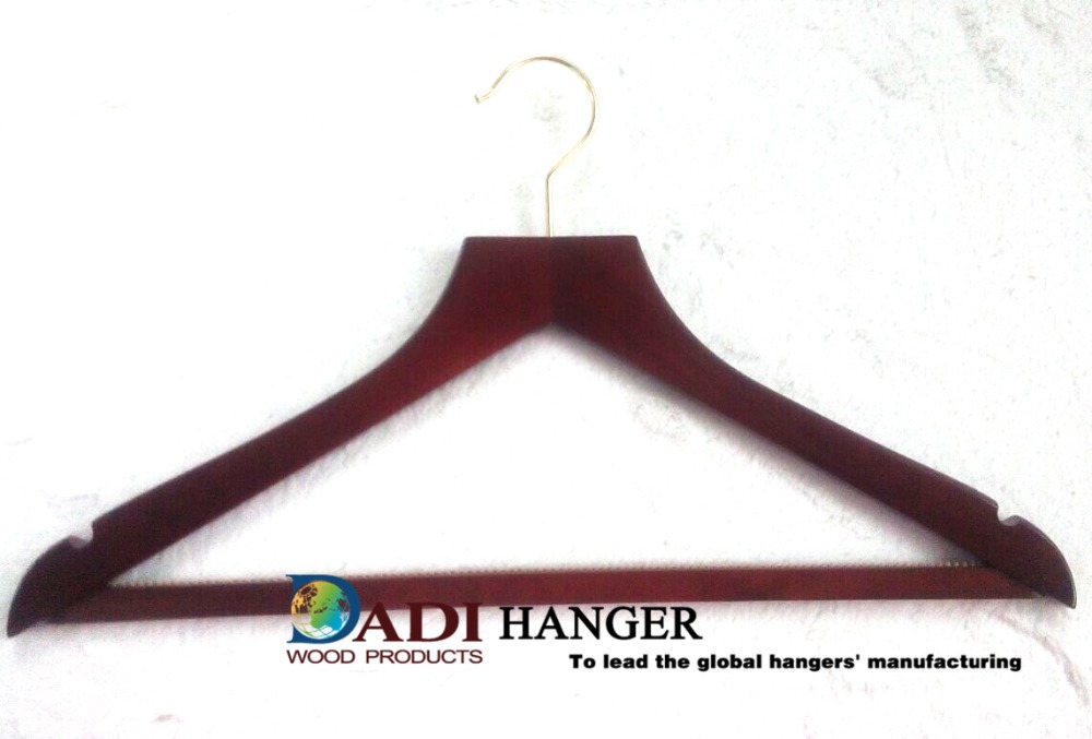 Garment Usage and Display Style wooden hangers