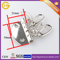 Metal iron design custom shaped metal key holder