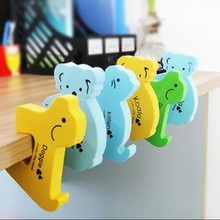Colorful Soft Baby Safe Animal door guard J150