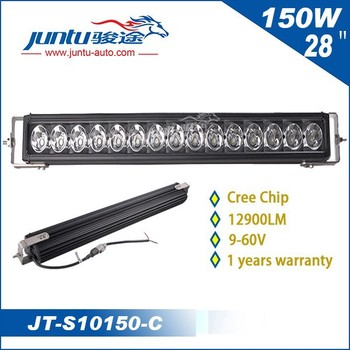 High performance vision x version 150w led offroad led light bar, 150w led spot light, 150w led light