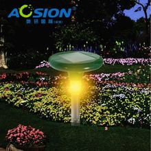AOSION Patent Designed Beautiful Night Light Solar Sonic fast delivery solar powered drive away snake