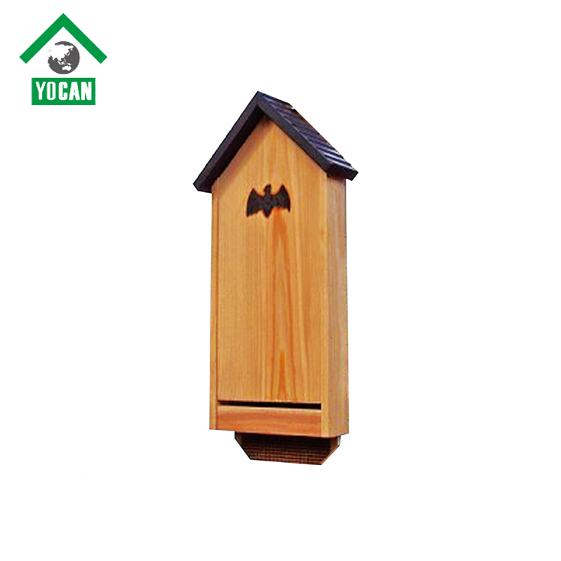 Flying mosquito toys wooden bat house