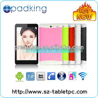 MTK dual core tablet PC 3G with gps navigation, bluetooth