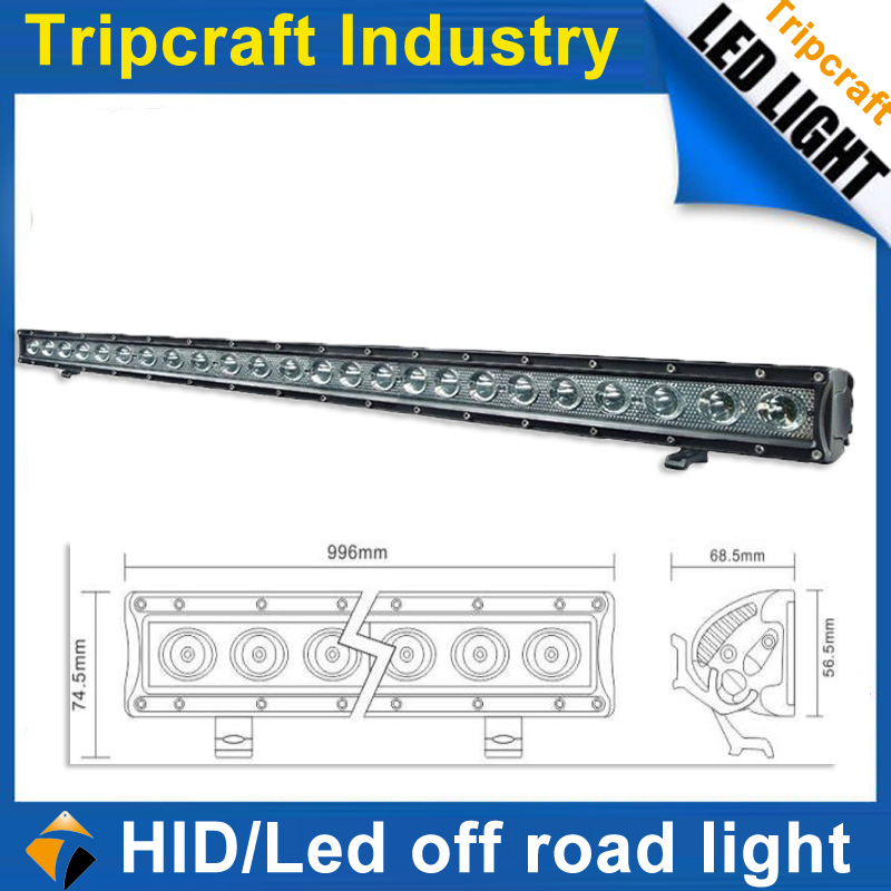 "Manufacture 40"" 10200LM 120w rotating led light bar"