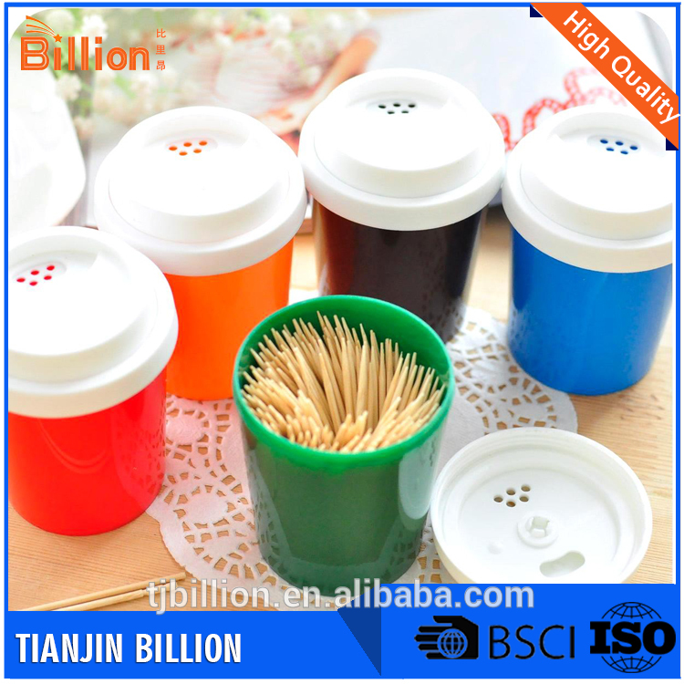 Hot sale eco-friendly healthy and natural kitchen wood or bamboo color toothpick