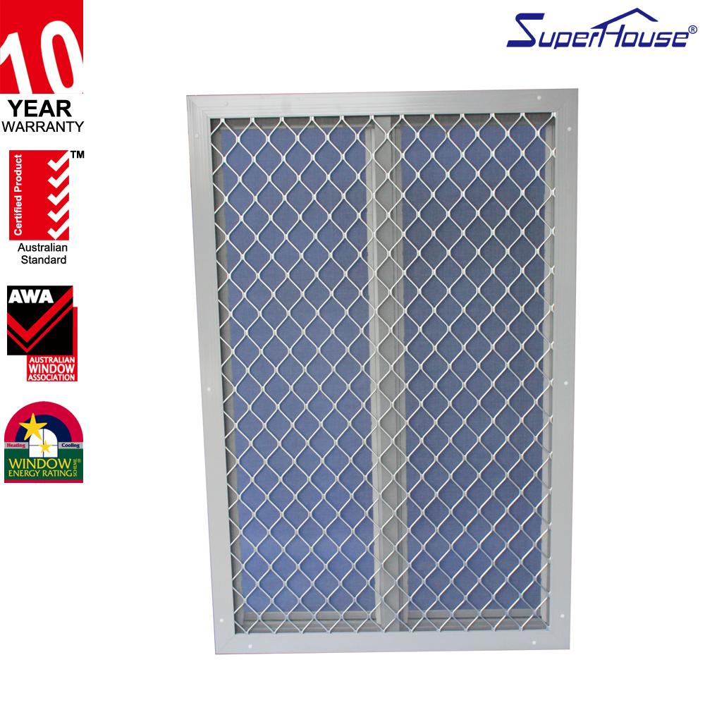 Made in China latest home louvres window iron grill prices design