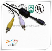 low price straight/coiled barcode scanner cable usb rj45 rs2 factory