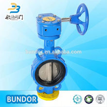 Ci Body Wafer Butterfly Valve Handles Dn250
