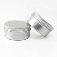 80ml Wholesale Costometic Metal Round Aluminum Jar Box Hair Pomade Container Tin Can (NAL01H)