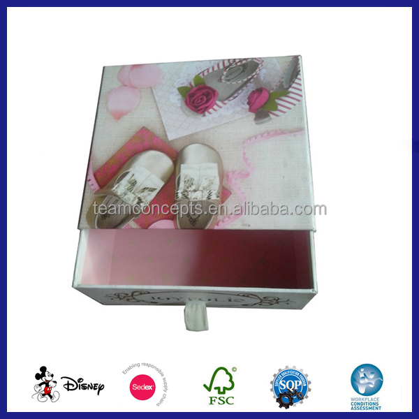 Baby Shoe Box Packaging Boxing Fashion Box For Sale