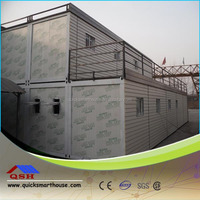 more units 20ft folding container houses joitns to be office