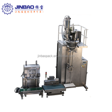 Starch packing machine with sew sealing function 15 KG bag