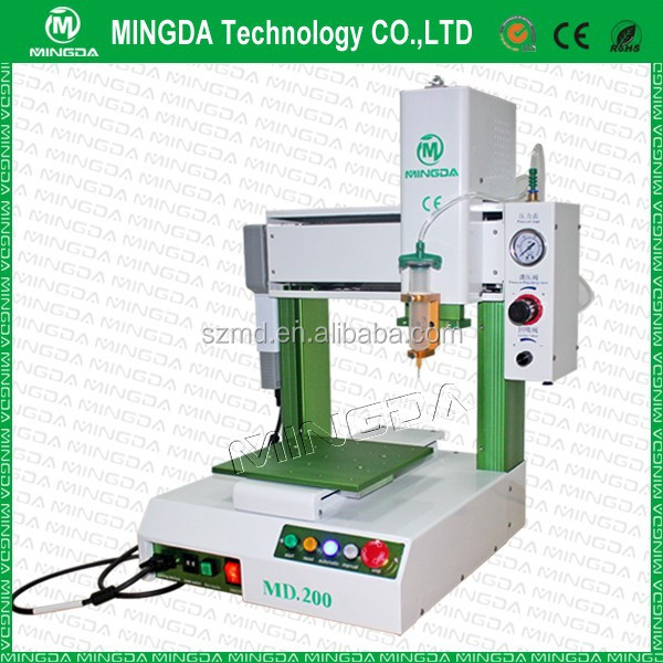 Customize service! Automatic glue dispenser/ solder paste dispensing robot machine