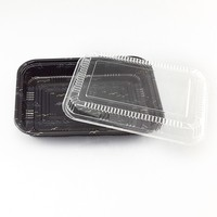 PS plastic food packaging sushi tray