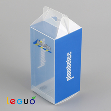 2016 new custom printing transparent clear PP/PVC/PET candle box