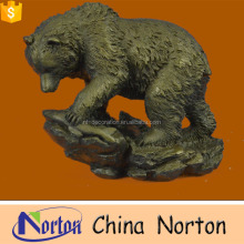 bronze animal large metal garden sculpture NTBA-B014S