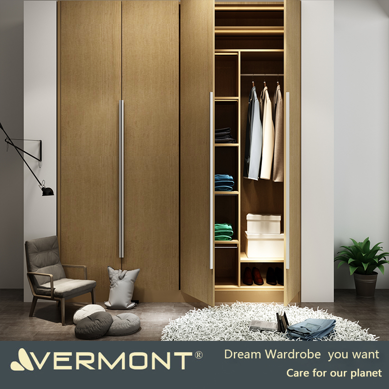 Customized solid wood walk in wardrobe Imported from Hangzhou