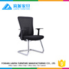Foshan factory price hot sell convenience office mesh chair ,meeting chair without wheel-M03C