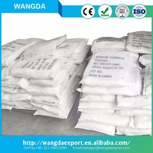 bulk road salt msds raw material 90% 92% 95% 98% sodium formate best price