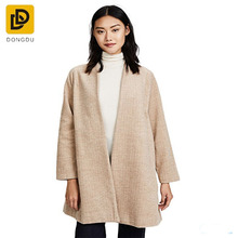 Trendy style hot sell jacket coat winter stanza herringbone cardigan coat factory for women