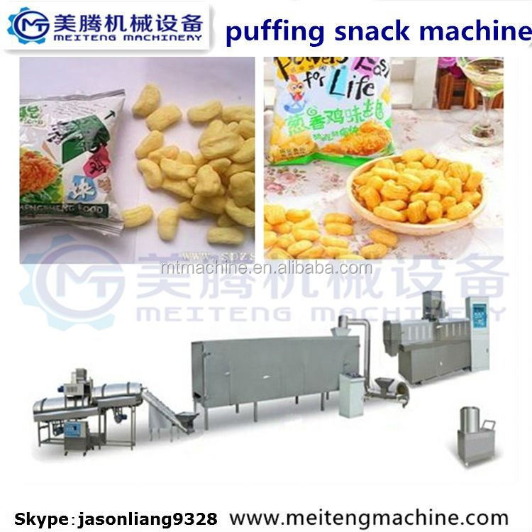 HOT popular snack food oil free snack maker /production line
