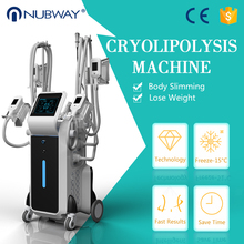 Medical CE approved 4 cryo handles equipment cryolipolysis slimming for cellulite reduce machine