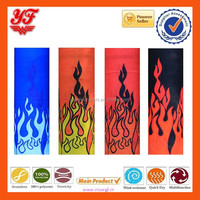 2015 Hot Sale Series Fire Design Multifunctional Seamless Tube Scarf/Multifunctional Mask Wholesale Neck Warm Bandana Gym Wear