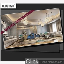 3D Rendering Small Villa Interior Design Morderm House Home Plans