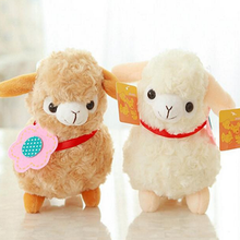 2016 1PCS Hot Selling New Soft Stuffed Animal <strong>Toy</strong> For Unisex Kid Gift Fashion Alpaca Sheep Plush <strong>Toy</strong> Random Color