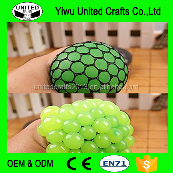 Funny Toy Antistress Face Reliever Grape Ball Autism Mood Squeeze Relief Healthy Toy Geek Gadget Toy