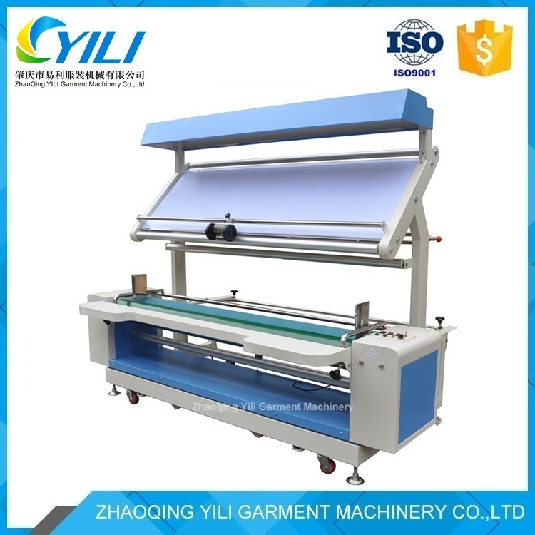 Multifunctional woven cloth inspection and winding machine, Textile woven fabric finishing machine