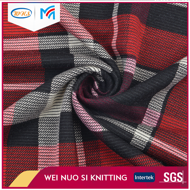 Best selling Fancy Spandex Dyeing Sweaters Knit Fabric Price