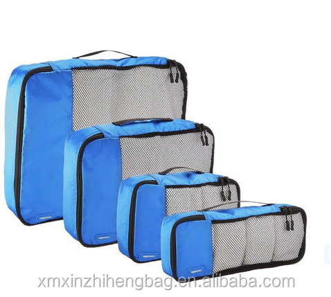 Travel packing cubes, travel organisers ice cube packing machine