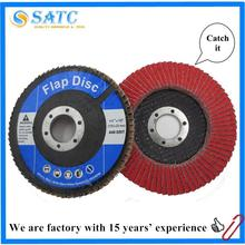 best quality ceramic alumina flap disc for grinding metal