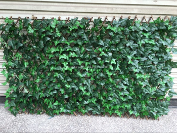 artificial leaves hedge more dense leaves