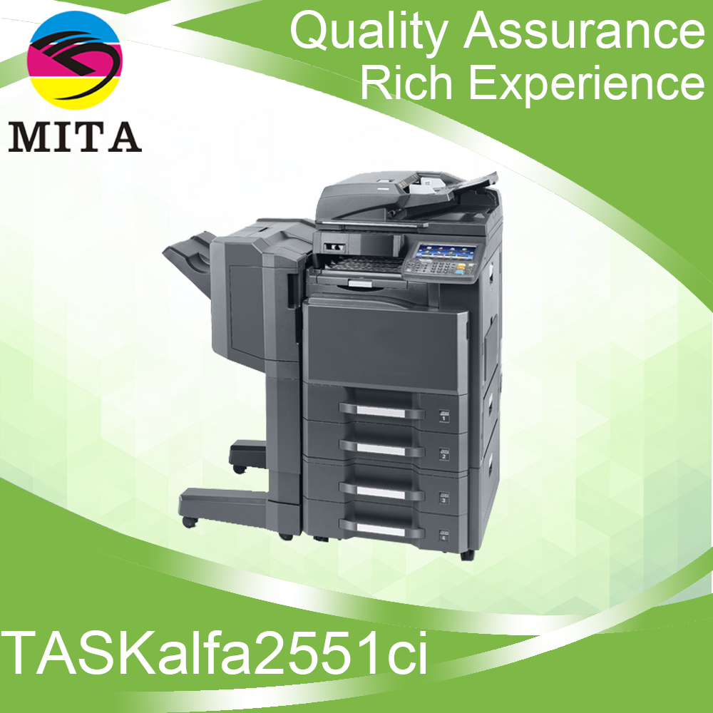 2016 New Colorful copiers TASKalfa2551ci export For Kyocera