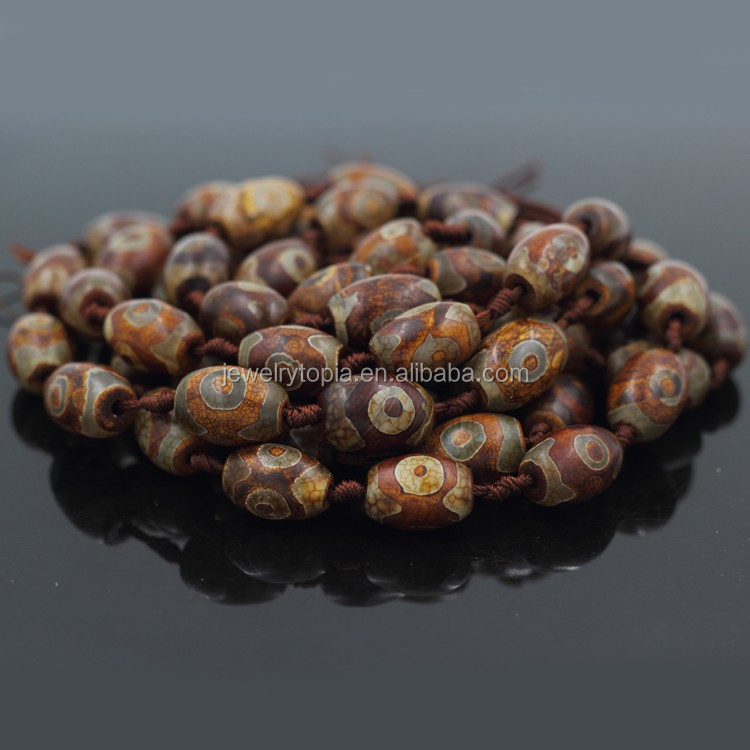 Wholesale Tibetan Agate Semi Precious Brown Stones