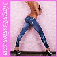 Cheap Wholesale Sex Jeans Legging Pants Jeans