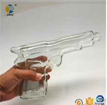 gun shaped wine glass bottles