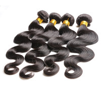 7A Brazilian Wavy Virgin Hair Wet and Wavy Virgin Brazilian Hair 4pcs/Lot Body Wave Loose Curly Human Hair Weave