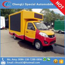 P6/P8/P10 led screen dispaly van advertising trucks for good publicity